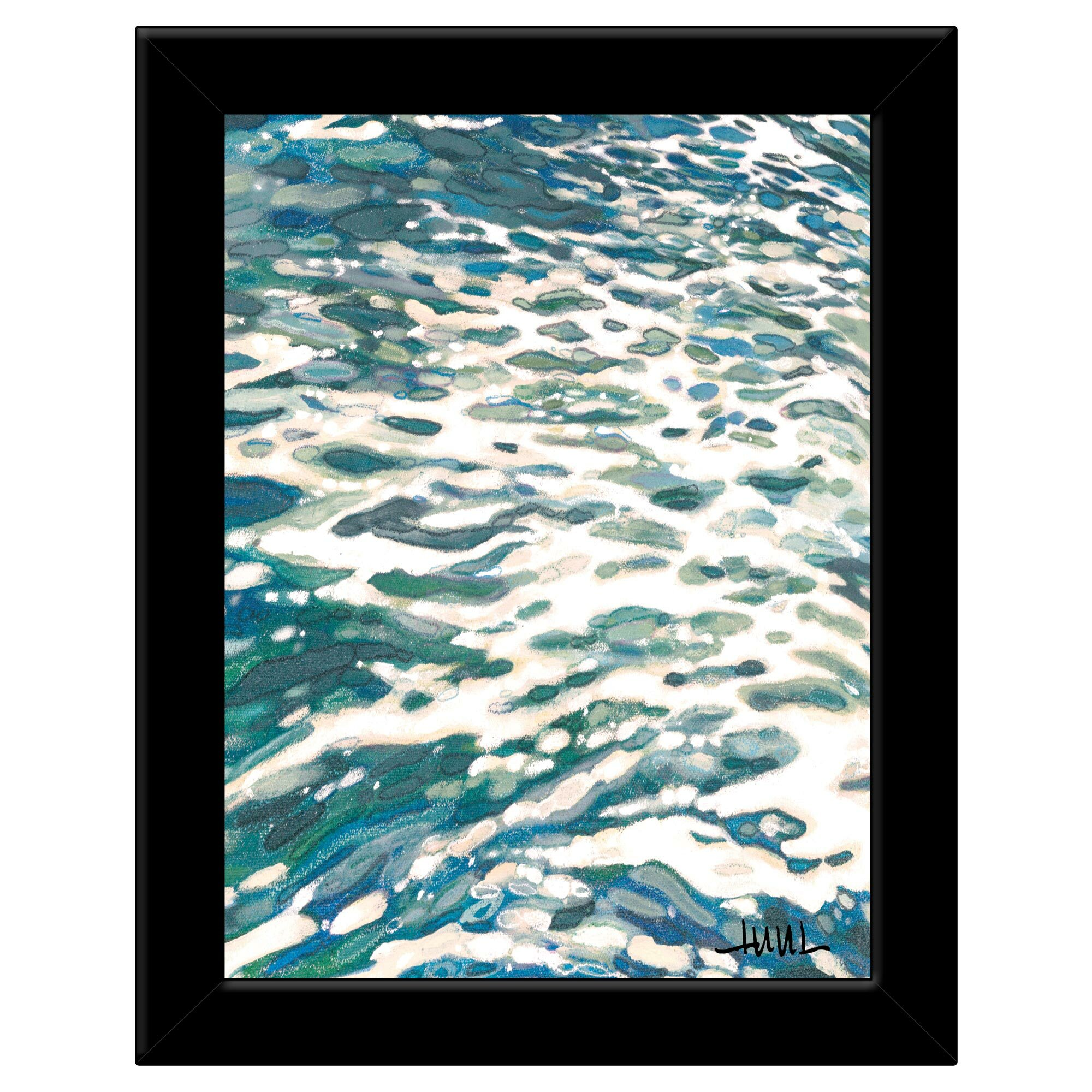 Highland Dunes Frothing Wave Turning By Margaret Juul Picture Frame Painting Print On Paper Wayfair