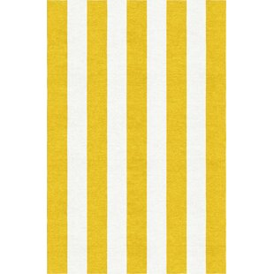 Buying Watterson Hand-Woven Wool Gold/White Area Rug By Breakwater Bay