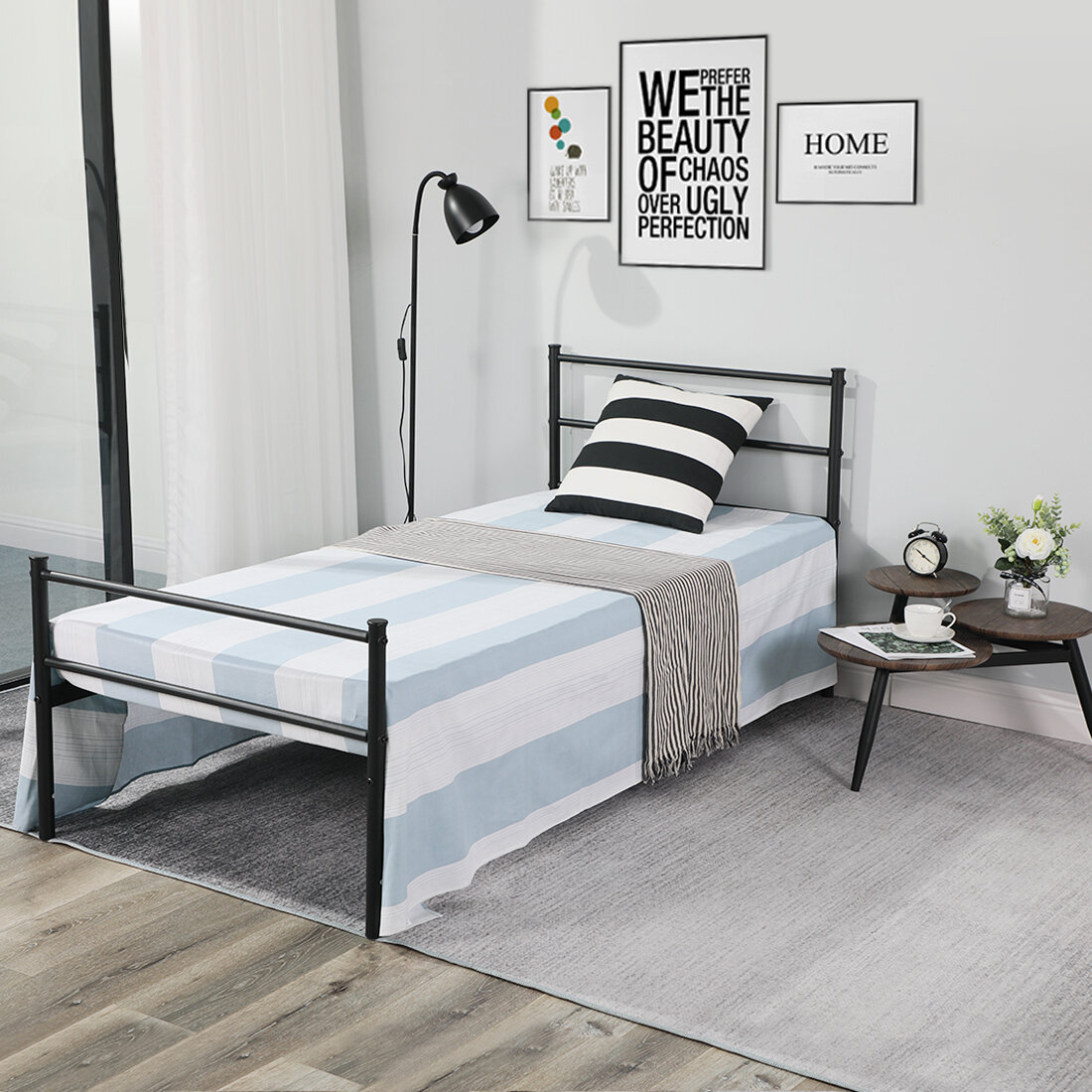High Profile Tall Bed Frames Free Shipping Over 35 Wayfair