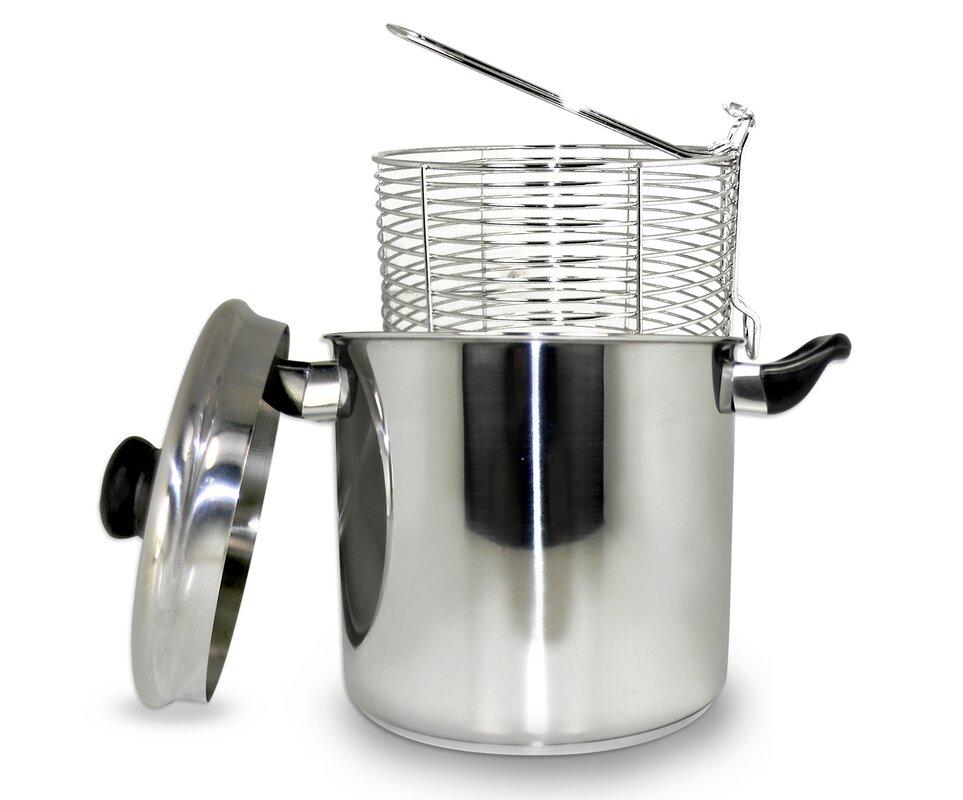 57 liter stainless steel stove top deep fryer