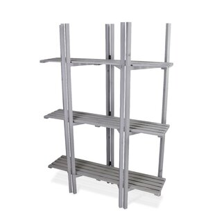 53.5 H x 38.25 W 3 Tier Folding Shelving Unit by WFX Utility