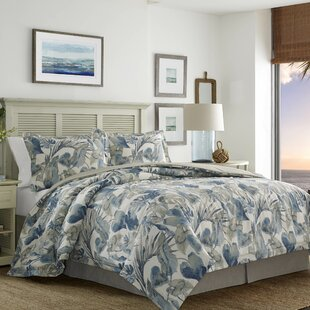 Raw Coast 4 Piece Comforter Set Tommy Bahama Bedding
