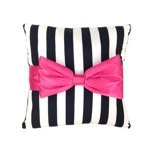 Just For Kids Stripe Bow Buddy Toddler Pillow By Disney