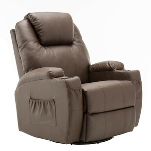 Control Reclining Heated Massage Chair