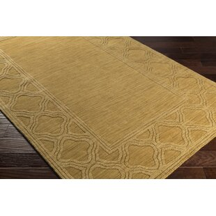 Es Mustard Yellow Area Rug