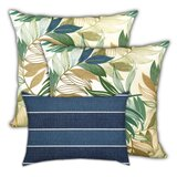 Pioche Palm Leaves Indoor / Outdoor Pillow Cover
