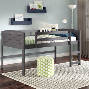 Best Price Manervia Twin Low Loft Bed by Three Posts Reviews (2019) & Buyer's Guide