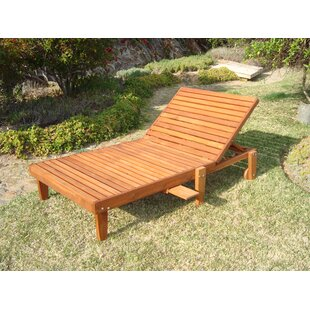 Thibeault Solid Wood Wide Chaise Lounge