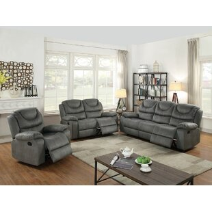 Read Reviews Sunderman Reclining Motion 3 Piece Living Room Set by Red Barrel Studio Reviews (2019) & Buyer's Guide