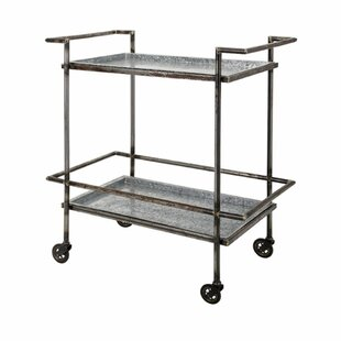 Shoshana Bar Cart by 17 Stories