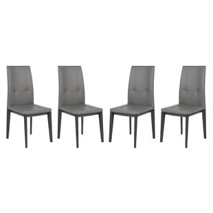 Rochel Upholstered Dining Chair (Set Of 4) by Orren Ellis Wonderful