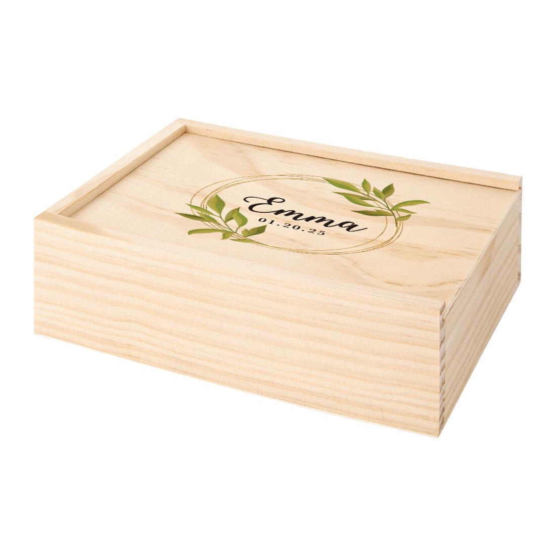 Le Prise Dovercourt Personalized Memory Box Wayfair