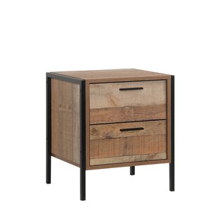 Maher 2 Drawer Nightstand by Union Rustic