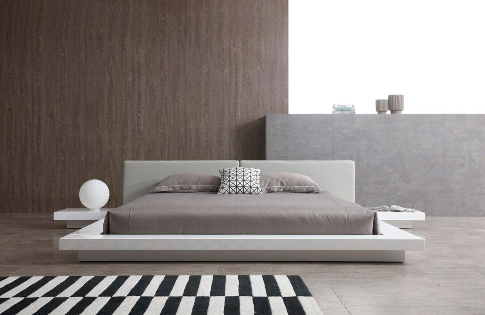 Orren Ellis Walsworth Low Profile King Platform Bed Wayfair