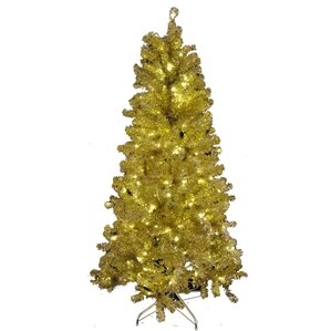 Gold Christmas Trees You'll Love | Wayfair