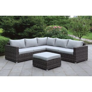 Krahn 6 Piece Sectional Set with Cushions