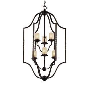 Compare prices Bungalow 6-Light Lantern Pendant By Darby Home Co