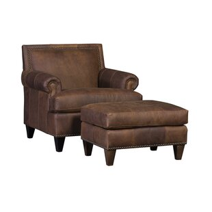 Marcello Club Chair and Ottoman By Gracie Oaks