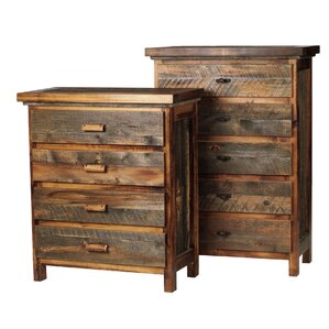 The Wyoming Collection�? 5 Drawer Standard Chest by Mountain Woods Furniture