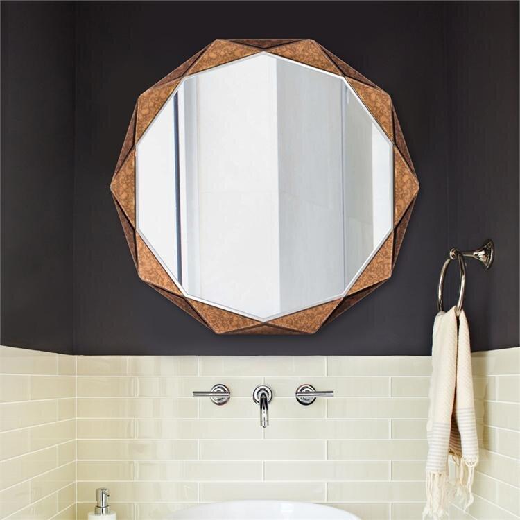 Faceted Panels Wall Mirror Reviews Joss Main