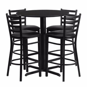Prentice 5 Piece Pub Table Set by Red Barrel Studio