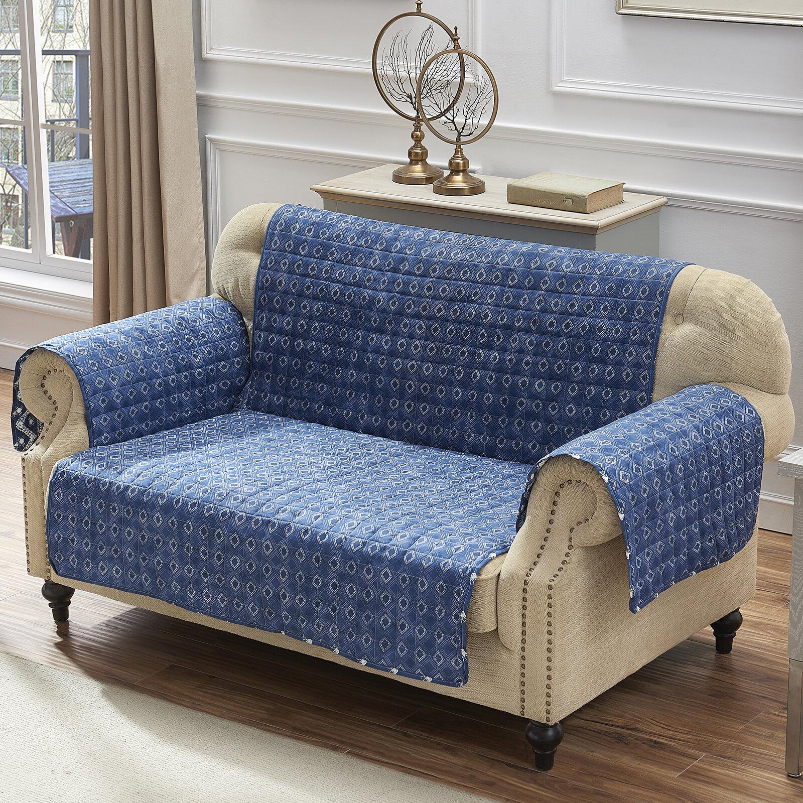 Tremendous T Cushion Loveseat Slipcover Gamerscity Chair Design For Home Gamerscityorg