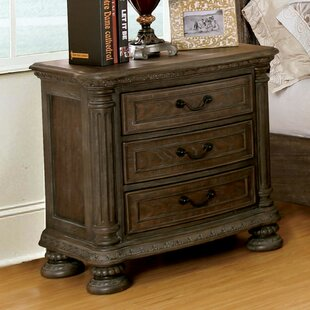 Coupon Darvell 3 Drawer Nightstand by Astoria Grand