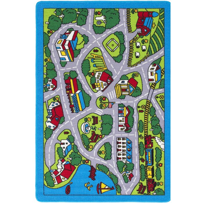 Goss Street Map Green/Grey Area Rug on map blanket, map math, map toys, map sheet, map cabinet, map lamp, map decor, map pouf, map quilt, map tile, map storage, map clock, map upholstery, map tree, map bag, map frame, map accessories, map trunk, map furniture, map carpet,