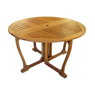 Church Street Outdoor 51 Wooden Gate Leg Patio Table