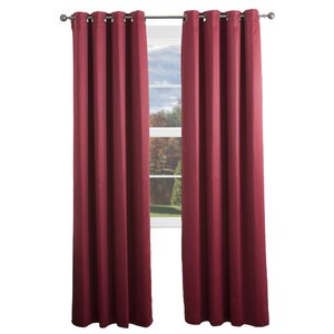 Kokomo Solid Blackout Grommet Single Curtain Panel