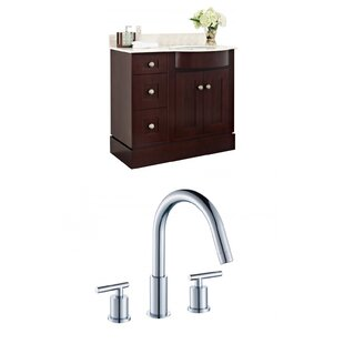 Kester Transitional 36 Wood Single Bathroom Vanity Set by Darby Home Co