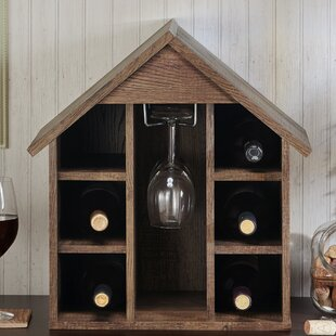 Second Avenue Bales 6 Bottle Tabletop Wine Glass Rack
