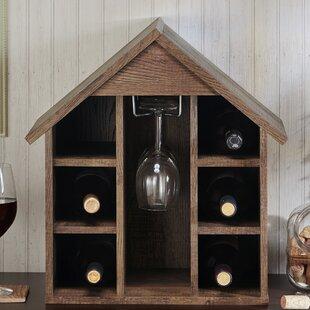 Second Avenue Bales 6 Bottle Tabletop Wine Glass Rack by Gracie Oaks