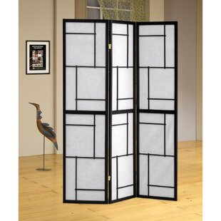 Balbus 3 Panel Room Divider by Bloomsbury Market