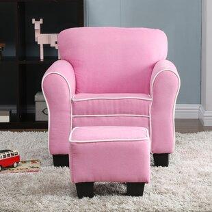 Inexpensive Aalborg Kids Chair and Ottoman ByHarriet Bee