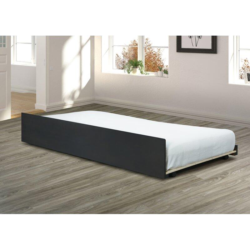 Alwyn Home Amina Trundle Bed Frame