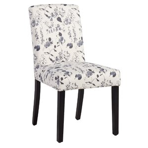 Buchanan Side Chair in Soft Blue Floral by Andover Mills