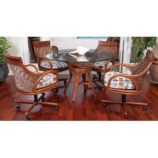 Bermuda 5 Piece Dining Set by Alexander & Sheridan Inc. Purchase