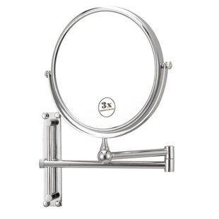 Compare prices Wall Mounted Makeup Mirror By Glimmer by Nameeks