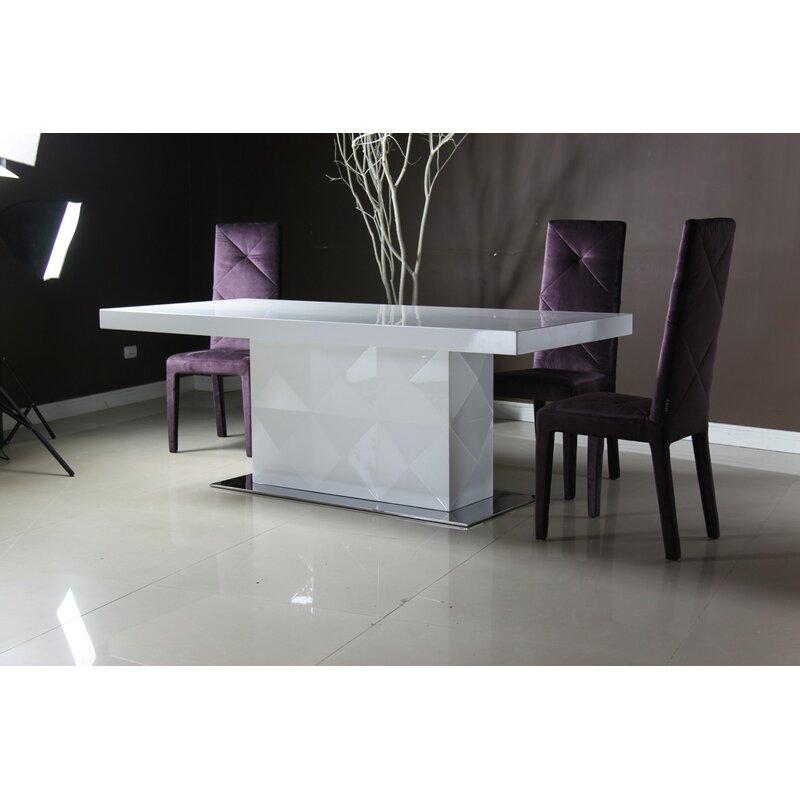 Vig Furniture Versus Eva Dining Table Wayfair