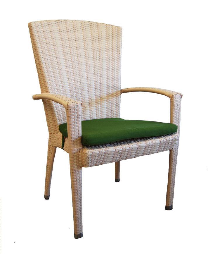 Arm Slip Cover Patio Dining Chairs You Ll Love In 2021 Wayfair