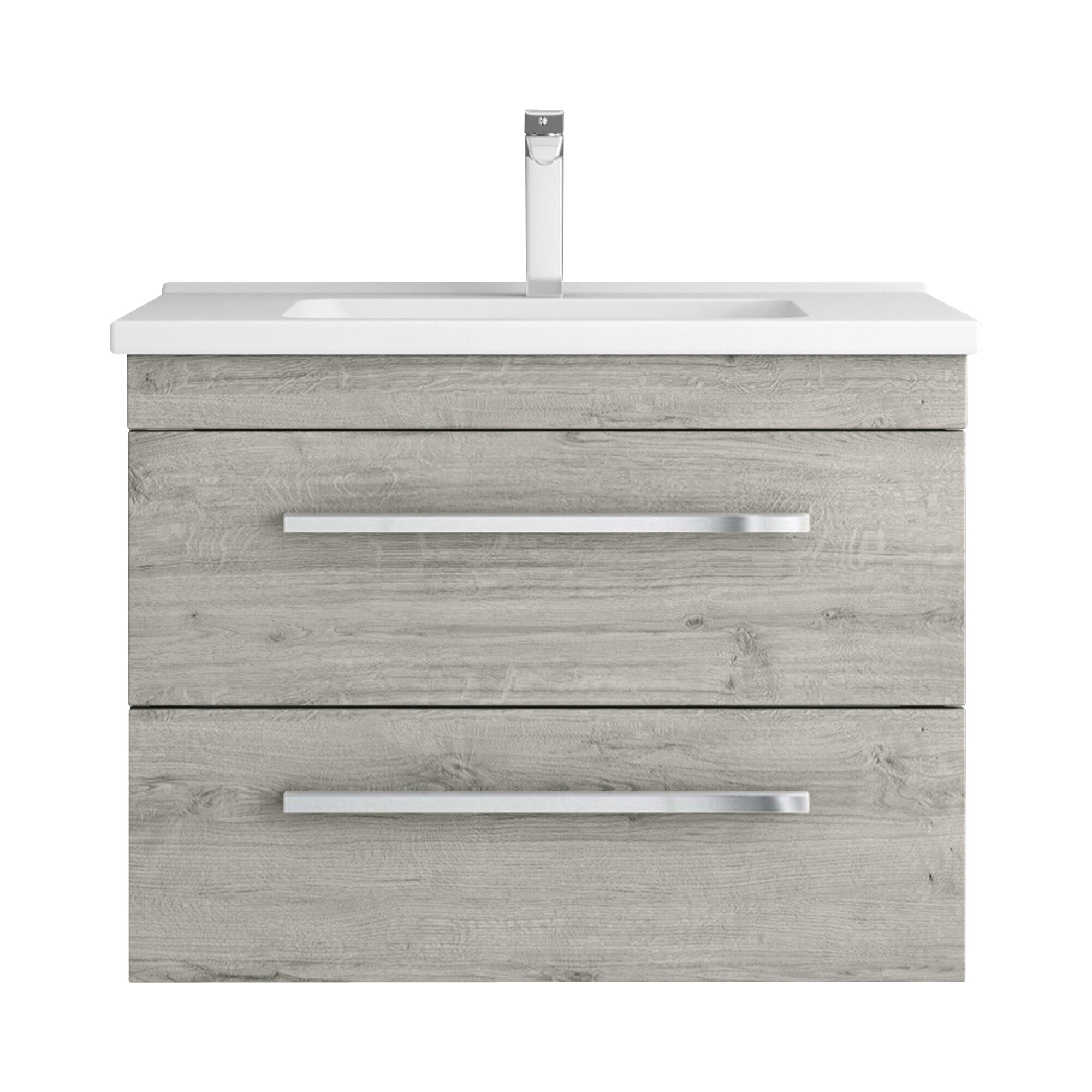Orren Ellis Lindauer 30 Wall Mounted Single Bathroom Vanity Set Wayfair