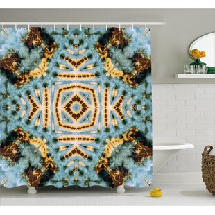 Hippie Motif Decor Single Shower Curtain