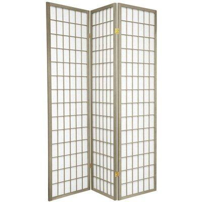 Bungalow Rose Leiva Room Divider Color: Gray, Number of Panels: 3