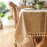 Dunbar Elegant Rectangle Tablecloth