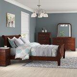 Braiden Sleigh 6 Piece Bedroom Set by Charlton Home®