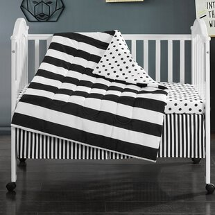 Beauchemin 3 Piece Crib Bedding Set
