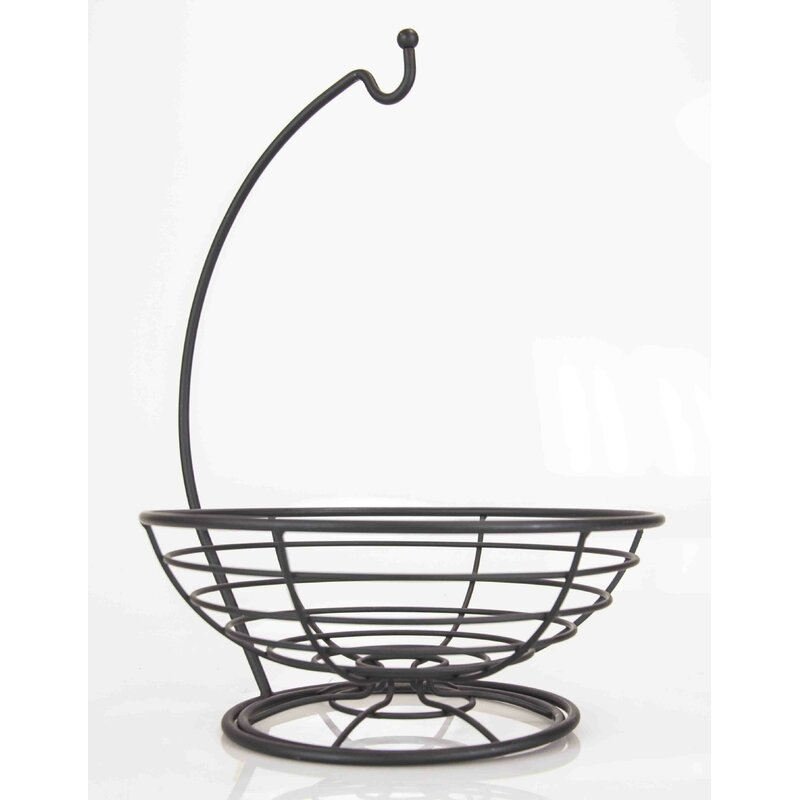 Rustic Wire Fruit Basket Alibaba Home Basics Wire Fruit Basket Wayfair