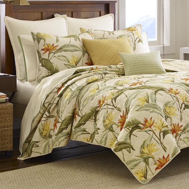 Tommy Bahama Home Birds of Paradise Quilt by Tommy Bahama Bedding ...