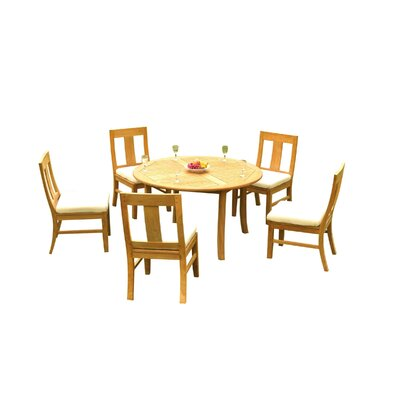 Kevon 6 Piece Teak Dining Set by Rosecliff Heights Purchase
